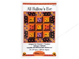 Halloween Clearance Patterns: QuiltWoman.com All Hallow's Eve Pattern