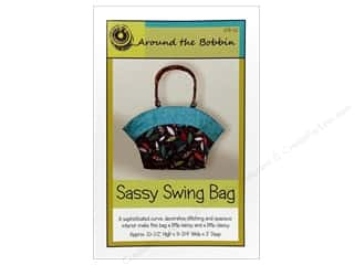 Purse Making $10 - $238: Around The Bobbin Sassy Swing Bag Pattern