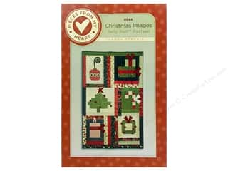 Pieced Tree Patterns: Pieces From My Heart Christmas Images Pattern