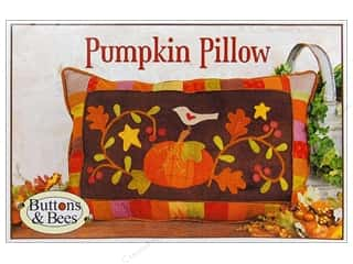 Wool Felt & Felting Patterns: Pumpkin Pillow Pattern