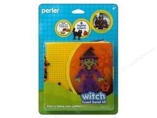 Kids Crafts Perler Bead Kits: Perler Fused Bead Kit Witch