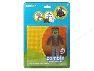 Crafting Kits Beading & Jewelry Making Supplies: Perler Fused Bead Kit Zombie