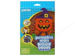 Weekly Specials Perler Fused Bead Kit: Perler Fused Bead Kit Biggie Pumpkin Man