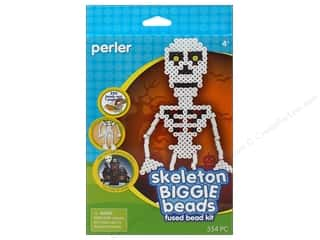 Beads Bead Kits: Perler Fused Bead Kit Biggie Skeleton