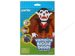 Kids Crafts Perler Bead Kits: Perler Fused Bead Kit Biggie Vampire