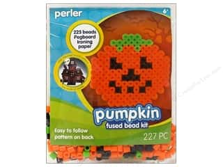 Perler Fused Bead Kit Trial Pumpkin