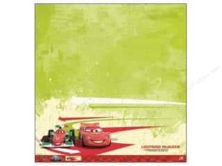 EK Paper 12x12 Disney Cars 2 McQueen &amp; Franchesco (25 piece)