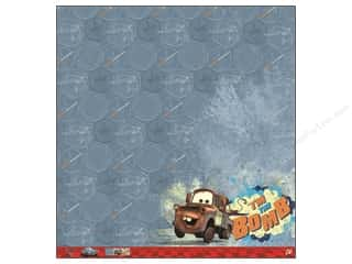 "Transportation Papers: EK Paper 12""x 12"" Bulk Disney Cars 2 Mater (25 pieces)"