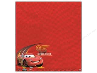 Disney: EK Paper 12x12 Disney Lightning McQueen (25 piece)