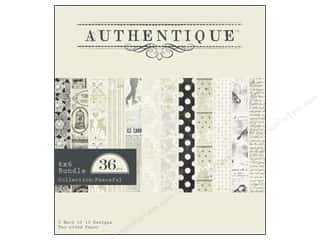 Authentique Paper Bundle 6&quot;x 6&quot; Peaceful 36pc