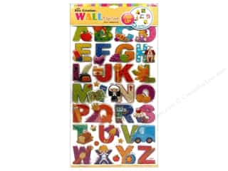 sticker: Best Creation Wall Decor Stickers Pop-Up Cartoon Alphabet