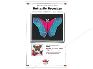 La Todera Quilt Patterns: La Todera Butterfly Brooch Pattern