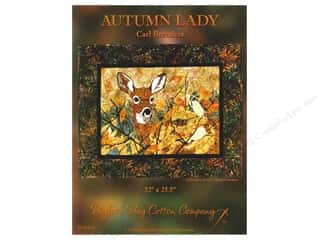 Clearance K&Co Mat Pad 4.75x6.75: Autumn Lady Pattern