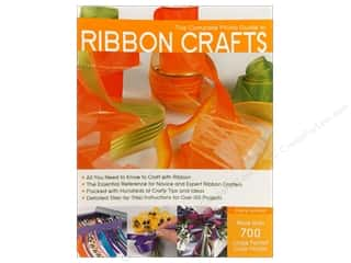 needlework book: Complete Photo Guide Ribbon Crafts Book