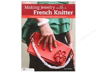 Beading & Jewelry Making Supplies paper dimensions: Design Originals  Making Jewelry With A French Knitter Book