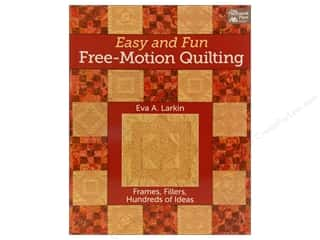 That Patchwork Place Easy and Fun Free Motion Quilting Book