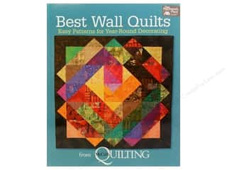 2013 Crafties - Best Adhesive: Best Wall Quilts From McCall's Quilting Book