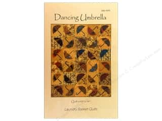 Laundry Basket Quilts Fat Quarter / Jelly Roll / Charm / Cake Patterns: Laundry Basket Quilts Dancing Umbrella Pattern