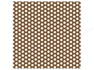 Canvas Corp 12 x 12 in. Paper Choc Ivory Dot Reverse (15 piece)