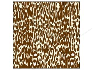 Canvas Corp Paper 12x12 Choc Ivory Leopard (15 piece)