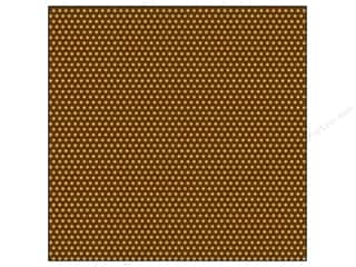Canvas Corp Paper 12x12 Choc Kraft Mini Dot Rev (15 piece)