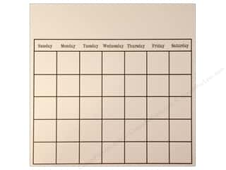 Calendars $8 - $12: Canvas Corp 12 x 12 in. Paper Black & Ivory Calendar (15 pieces)