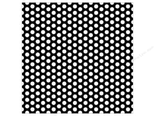 Canvas Corp Paper 12x12 Black White Dot Reverse (15 piece)