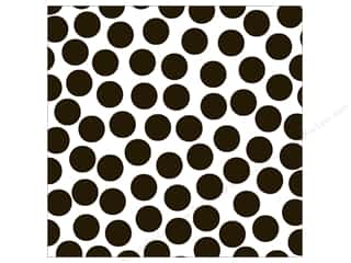 Canvas Corp Paper 12x12 Black White Big Dot (15 piece)