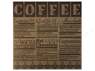 Canvas Corp Paper 12x12 Coffee Defined On Kraft (15 piece)