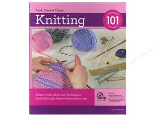 Computer Software / CD / DVD: Knitting 101 Book