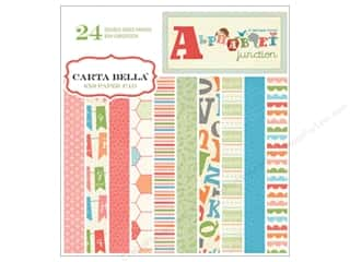 Carta Bella Paper Pad 6x6 Alphabet Junction