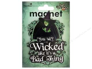 Paper House Magnet 3D Wicked Witch Of West