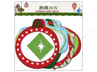 Chipboard Albums: Bo Bunny Album Mini Edgy Mistletoe