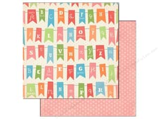 Carta Bella ABC & 123: Carta Bella 12 x 12 in. Paper Alphabet Junction Alphabet Banner (25 pieces)