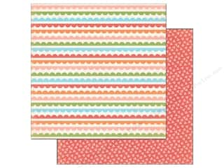 Carta Bella 12 x 12 in. Paper Simple Scallops (25 piece)