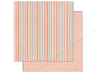 Carta Bella 12 x 12 in. Paper Delightful Stripe (25 piece)