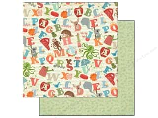 Carta Bella ABC & 123: Carta Bella 12 x 12 in. Paper Alphabet Junction A Through Z (25 pieces)