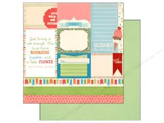 Carta Bella Paper 12x12 Alpha Junction Alpha Card (25 piece)