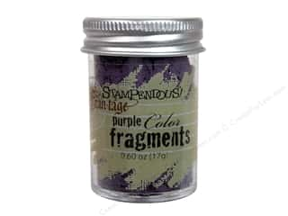 Clearance Fran-tage Color Fragments: Stampendous Fran-Tage Color Fragments Purple .60oz