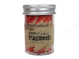 Clearance Fran-tage Color Fragments: Stampendous Fran-Tage Color Fragments Scarlt .60oz