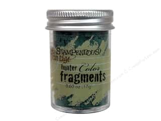 Clearance Fran-tage Color Fragments: Stampendous Fran-Tage Color Fragments HntGrn .60oz