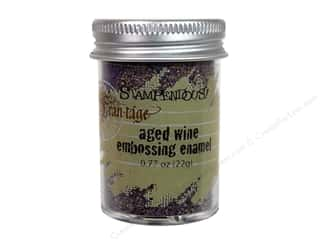2013 Crafties - Best Adhesive: Stampendous Fran-Tage Emboss Powder .77oz AgedWine