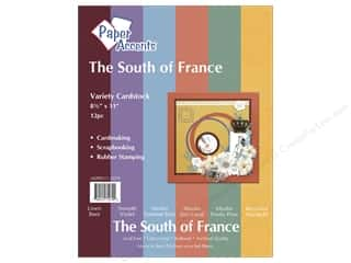 Scrapbooking & Paper Crafts  Papers: Cardstock Variety Pack 8 1/2 x 11 in. South Of France