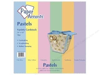 Paper Accents Cardstock VP 12x12 Pastels 18pc