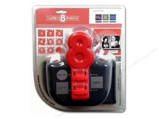 Holiday Gift Ideas Sale We R Memory Lucky 8 Punches: We R Memory Punch Lucky 8 Frilly Lace