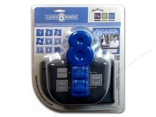 Holiday Gift Ideas Sale We R Memory Lucky 8 Punches: We R Memory Punch Lucky 8 Fancy Scroll
