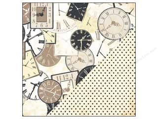 Bazzill Paper 12x12 Timeless/Black Dot 25pc