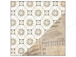 Bazzill 12 Sheets: Bazzill 12 x 12 in. Paper Timeless Parlor/Sonnets 25 pc.