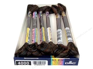 Variegated Floss: DMC Color Variations Floss 8.7 yd. #4000 Espresso (6 skeins)