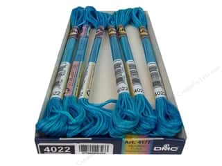 DMC Floss: DMC Color Variations Floss 8.7 yd. #4022 Mediterranean Sea (6 skeins)
